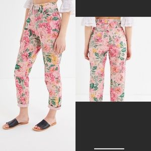 🆕 BDG Urban Outfitters Mom Jeans High Rise Floral